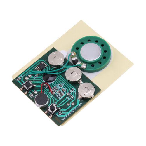 27s Tarjeta de felicitación chip de voz grabable módulo de chip de sonido Caja de Música Musical Hazlo tú mismo
