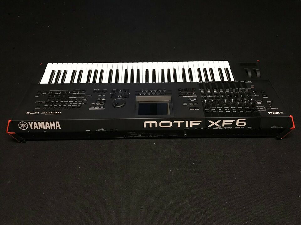 Keyboard, YAMAHA MOTIF XF6