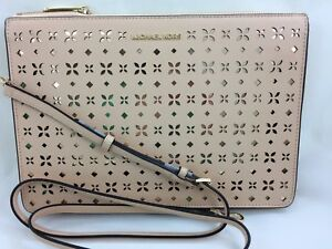 0bb78e96f778 Image is loading New-Michael-Kors-Ava-Large-Perforated-Leather-Convertible-