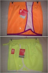new-WOMENS-shorts-ORANGE-YELLOW-Athletic-Loose-Drawstring-S-L-XL-XXL-T23