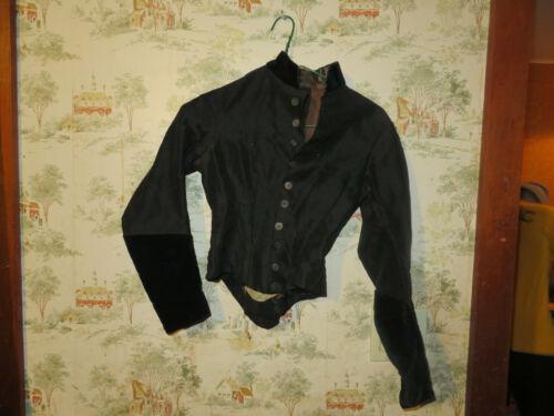 Antique Victorian Black Jacket, Mourning Jacket, V