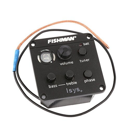 FISHMAN ISYS ACOUSTIC GUITAR PICKUP ONBOARD PREAMPS EQ