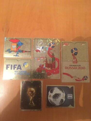 panini world cup 2018 stickers foils choose from list free postage
