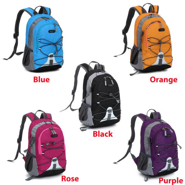 Children Boys Girls Snack Bag Backpack Outdoor Sport Travel Camping Canvas Bag