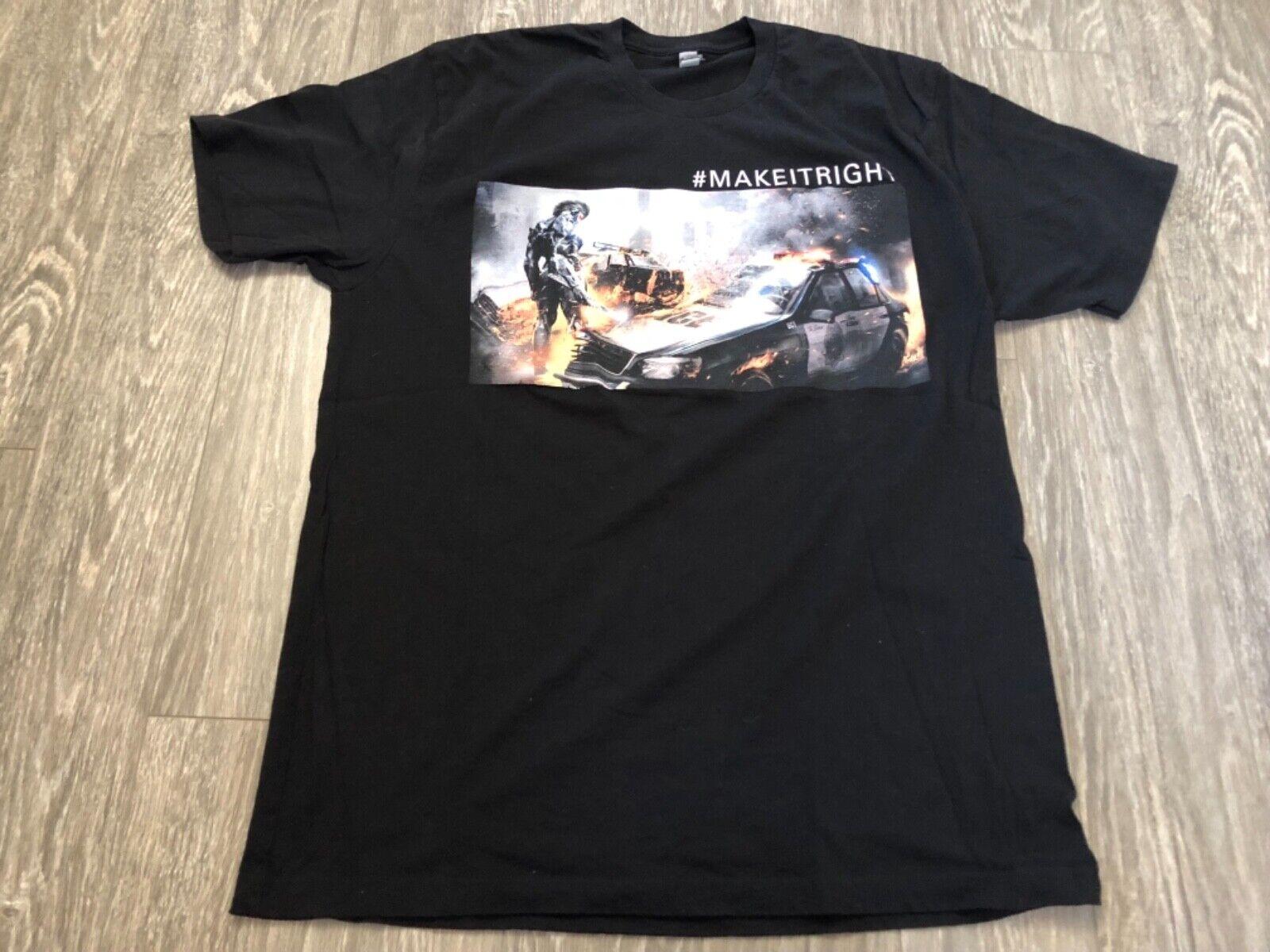 Metal Gear Rising REvengeance  MAKEITRIGHT T-Shirt XL Used