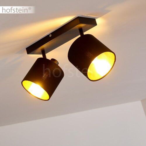 Decken Lampe Flur Strahler verstellbare Wohn Schlaf Zimmer Leuchte Schwarz//Gold