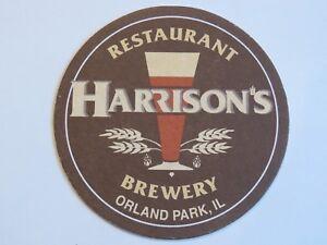 Cerveza Posavasos ~ HARRISON'S Restaurante & Cervecería~ Illinois~ Coca-Cola