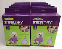Lot Of 10 Furminator Furdry For Dogs Small Wet Dry Purple Wholesale