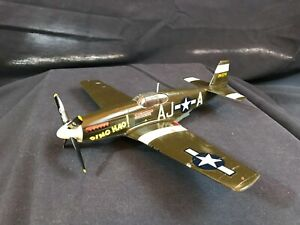Vintage-North-American-P-51B-Mustang-Model-Craftsman-Built-and-Detailed