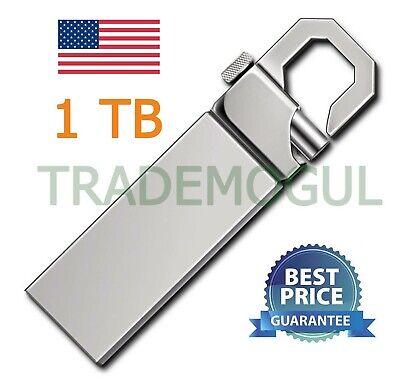 New 32GB 32G USB 2.0 Memory Silver Hook Flash Drive USA SELLER!