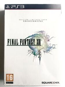 Final-Fantasy-XIII-13-PS3-PLAYSTATION-Neuf-Scelle-Retro-Scelle-Nouveau-Pal-Spa