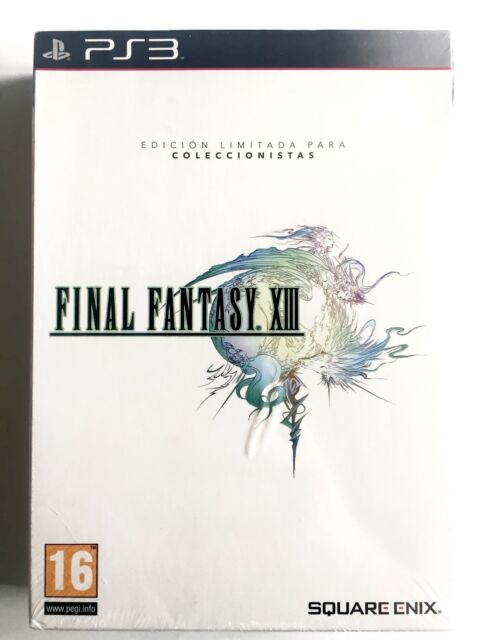 Final Fantasy XIII 13 PS3 Playstation Nuevo Precintado Retro Sealed New PAL/SPA