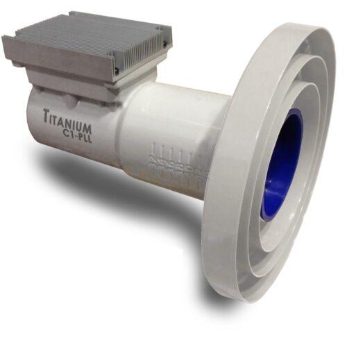 Titanium C1-PLL C-band Phase-Locked Loop LNBF with WiMax Filter  FTA PLL LNB
