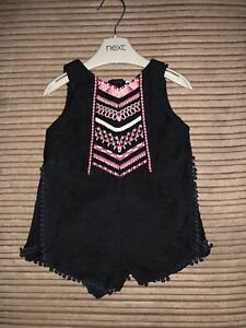 24260ad70cee BNWT NEXT BABY GIRLS AZTEC PLAYSUIT JUMPSUIT 3-6 MONTHS ALL IN ONE ...