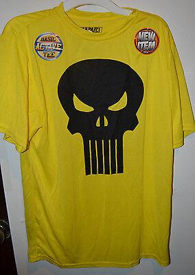 MARVEL Punisher  Boys Basic Active Tee  Various  SIZES NWT Yellow