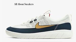 Nike-sb-Nyjah-libre-2-034-Obsidiana-Blanco-OBS-034-Hombre-Zapatillas-Limited-Stock-Todos-Los-Tamanos