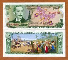Costa Rica 20 Colones Scene of Justice//p238a UNC 10.7.1972