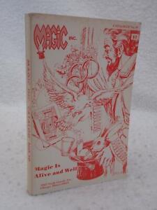 MAGIC INC. Catalog No. 19 Circa 1970s Chicago, IL