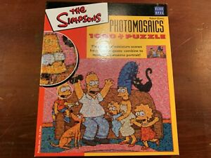 The-Simpsons-Robert-Silvers-Photomosacis-Family-Puzzle-2003-COMPLETE