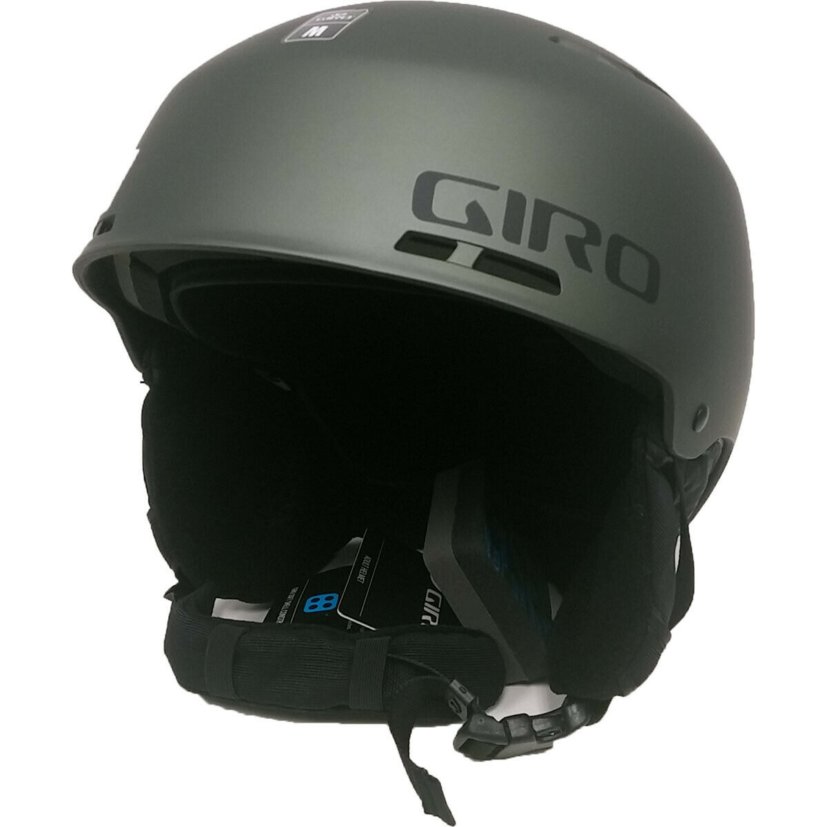 Giro Combyn Skiing Snow Sports Helmet Matte Olive Adult Medium M 55.5 59 cm