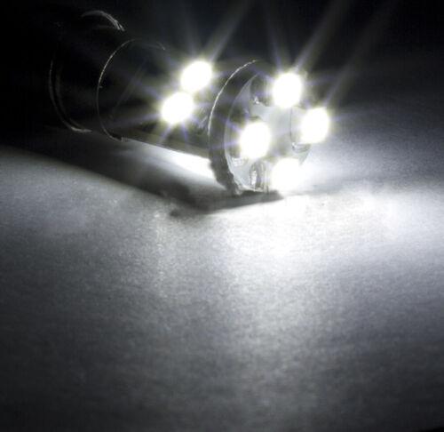 4 ampoules à LED smd Lumière Blanc Plafonnier arrière  pour BMW série 3 E46