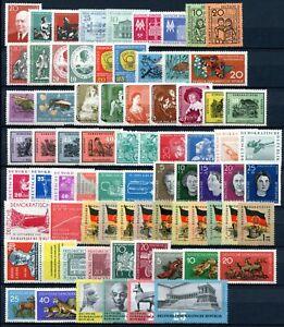 DDR-Jahrgang-1959-postfrisch-MNH-jede-MiNr-1x
