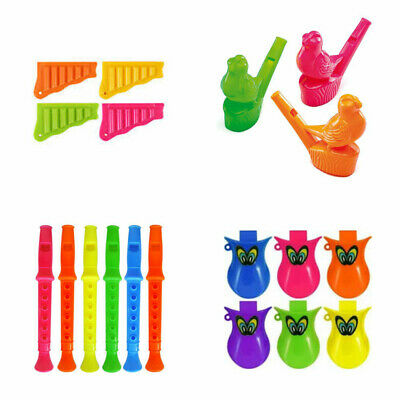 Mini Whistle Lips Fun Whistling Kid/'s Party Toy Bag Fillers Loot Favour Plastic