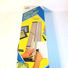 Logan 550 1 Simplex Classic Mat Cutter 40 Inch For Sale Online Ebay