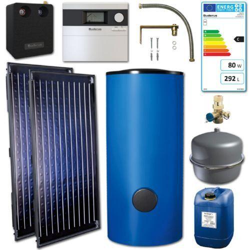 Buderus Logaplus OS66 Solar Paket Blau inkl. Speicher 300L 7739606312