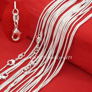 Wholesale-Lots-Women-925-Sterling-Solid-Silver-1mm-Snake-Chain-Necklaces-16-034-30-034