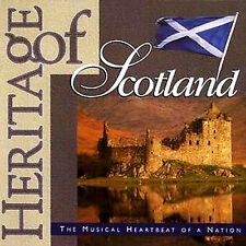 SCOTLAND'S HERITAGE NEW CD SCOTTISH SONGS, BAGPIPES, DRUMS . Burns Night Party