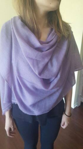 100% Cashmere Plain Scarf in 8 Colors!