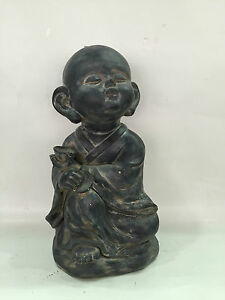 Garden-Wize-Home-Porch-Indoor-amp-Outdoor-Happy-Buddha-Ornament-Statue-Decoration