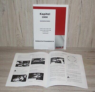 Werkstatthandbuch Grundmotoren für IHC Traktor Diesel Motor D155