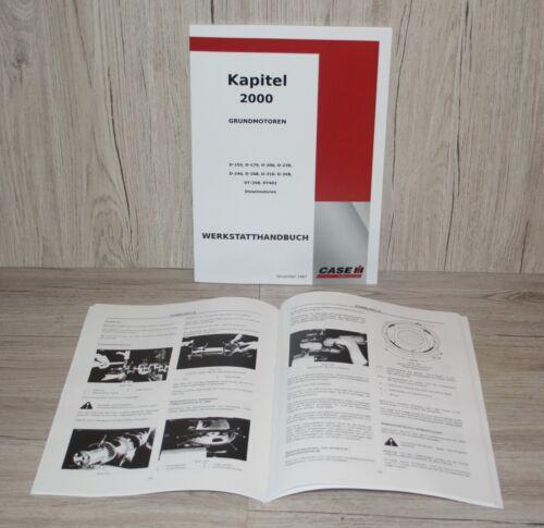 IHC//case de planta mano libro motivo motor para motor d155-dt402