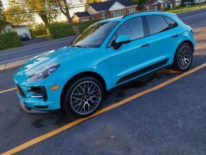 Porsche macan S  miami blue like new airlift sport Exaust