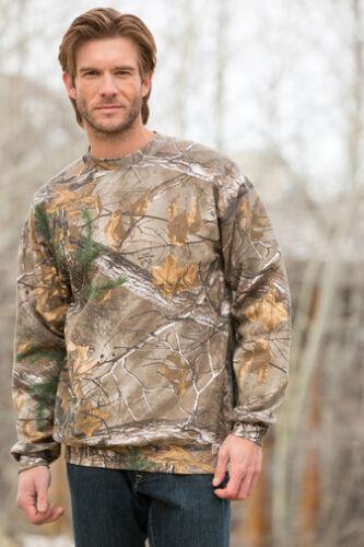 XL Russell Outdoors Camo Sweatshirt REALTREE XTRA or AP Crewneck  Hunting  L