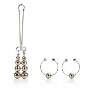 Clit silver non pierce body jewelry