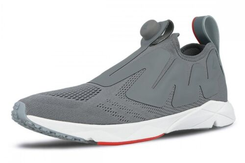 02501d003c76 3 of 12 REEBOK  Pump Supreme Engine Low-Top Mesh  Trainers Sneakers Grey US  9.0