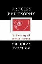 Process Philosophy: A Survey of Basic Issues-ExLibrary
