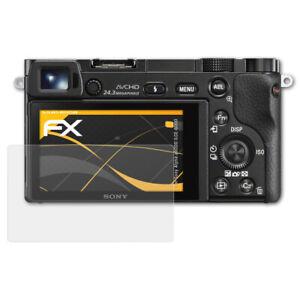 atFoliX-3x-Screen-Protector-voor-Sony-Alpha-a6000-ILCE-6000-mat-amp-schokbestendig