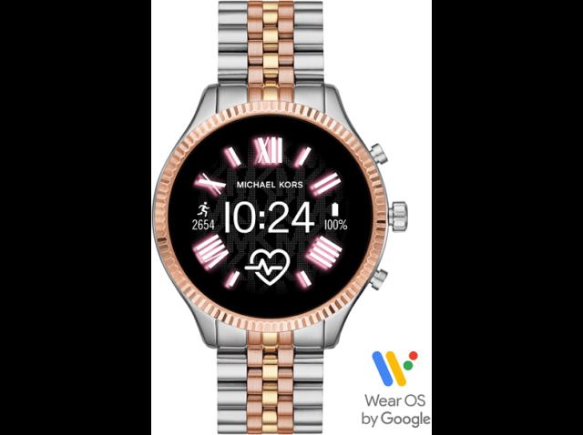 MICHAEL KORS MKT5080 LEXINGTON 2 Smartwatch Edelstahl 190 mm Silber