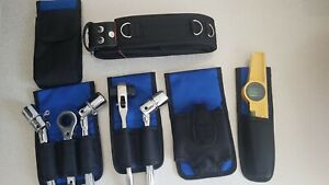 New-2-IN-1-Scaffold-Nylon-Leather-Tool-Belt-Full-tools-Frog-Set-Best-Quality