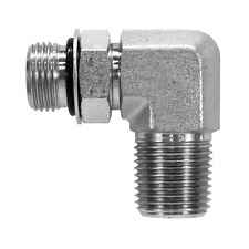 6806 08 08 Hydraulic Fitting 12 Male O Ring X 12 Male Npt Pipe 90