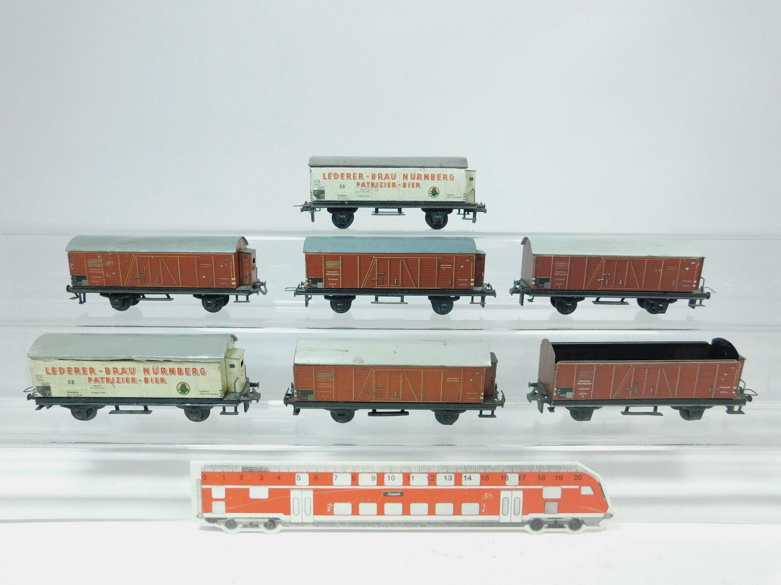 Az536 -1 x Trix Express H0  DC Hobbyist Transportvagnar  Lederer DB