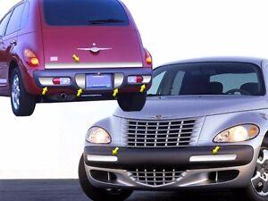 Fits Chrysler Pt Cruiser 2001 2004 Stainless Polished