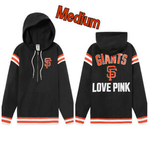 5216cc9d Details about Victoria's Secret PINK Medium SF Giants Jacket MLB 🆕AMAZING