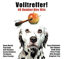 (2CD's) Volltreffer! 40 Number One Hits - Paul Anka, Elvis Presley, Pat Boone