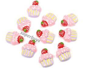 10pcs-Purple-Cupcake-Figurine-For-Cake-Decoration-Topper-Figure-Toy-Decorate