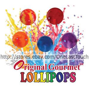 ORIGINAL-GOURMET-1-Individual-Candy-Pop-LOLLIPOPS-Various-Flavors-YOU-CHOOSE